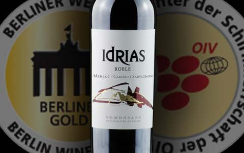 IDRIAS Roble, Oro en Berliner Wein Trophy